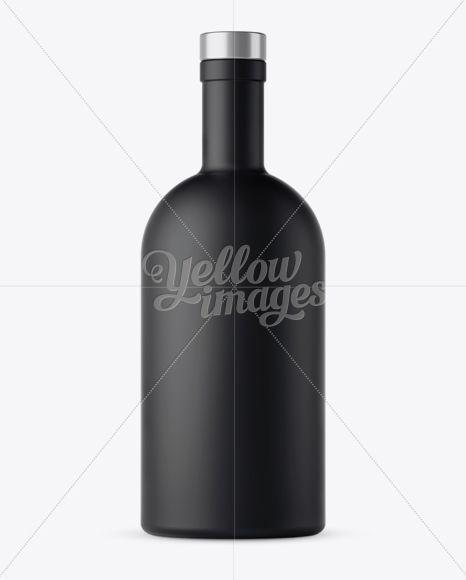 Download Black Matte Bottle Mockup Front View In Bottle Mockups On Yellow Images Object Mockups Bottle Mockup Bottle Mockup Free Psd Yellowimages Mockups