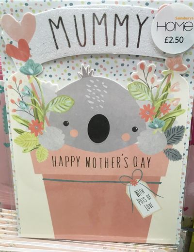 Print Pattern Mother S Day 18 Sainsbury S Greeting Card Design Happy Mothers Day Mothers Day Cards