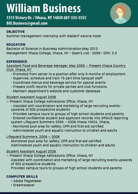 The latest resume format 2016 is created as per the kind of job - latest resume format 2013