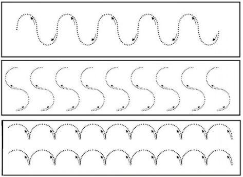 Tracing Lines Worksheets Printable