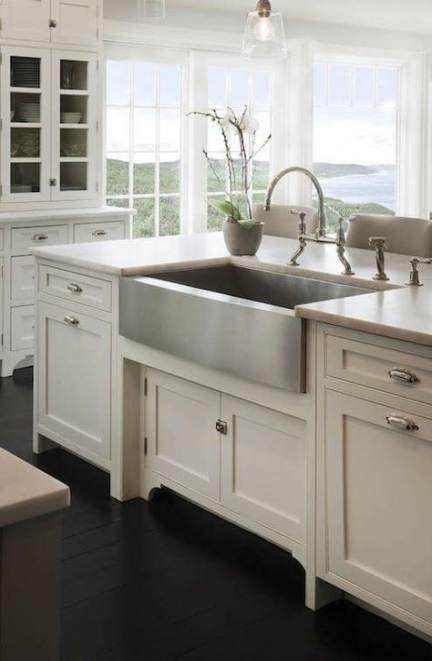 Trendy Kitchen Island Rustic Farm Sink 38 Ideas Best Kitchen Sinks Kitchen Sink Design Kitchen Sink Inspiration