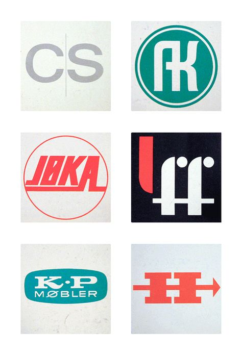 Friday Find Scandinavian Logos From The 1960s 70s Identity Design Logo Vintage Graphic Design Typography Logo