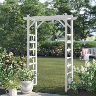 Breeze 12 Ft W X 16 Ft D Solid Wood Pergola Garden Structures Wood Arbor Outdoor