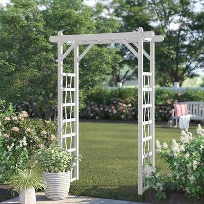 Breeze 12 Ft W X 16 Ft D Solid Wood Pergola Garden Structures Wood Arbor Outdoor