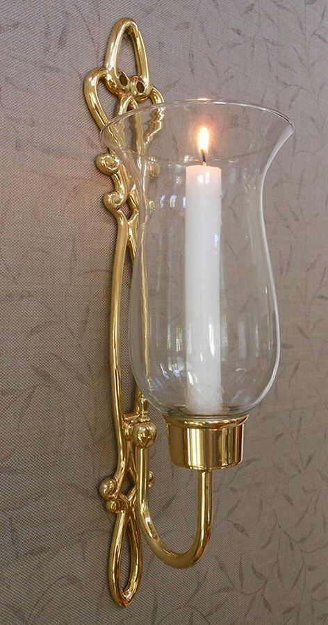 Brass Sconces Cast Brass Sconces And Wall Sconces In Gold Finish Candle Wall Sconces Candle Sconces Wall Lamp Design