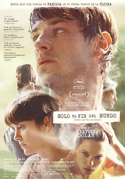 Juste La Fin Du Monde Torrent : juste, monde, torrent, Mundo, Xavier, Dolan,, Movie, Posters,, Director