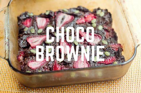 instafit Chancho Verdo: Brownie Humedo...