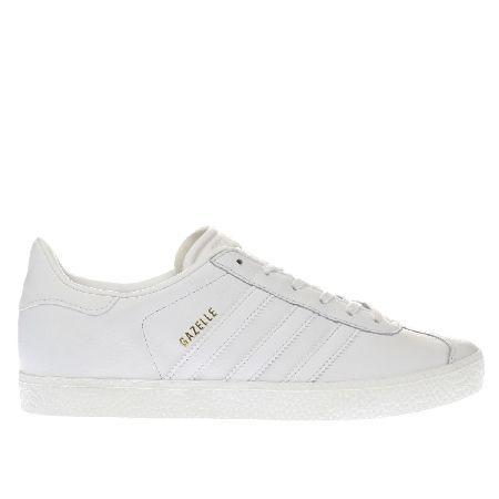 Adidas white gazelle unisex youth #Its