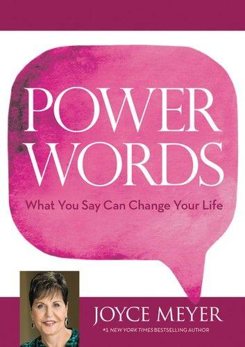 Power Words Ebook By Joyce Meyer In 2020 Joyce Meyer Powerful