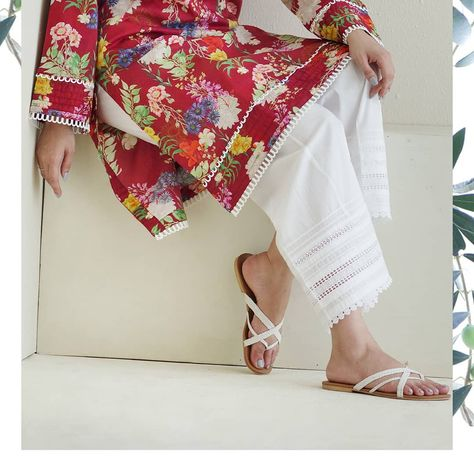Grab our ready to wear floral prints and pair them up with the seasons most coveted lowers.One can simply not have enough of classic kurtas…