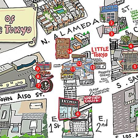 A Guide To Little Tokyo Little Tokyo Los Angeles Little Tokyo
