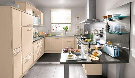 Kuche Bavaria 3310 Birke In 2020 Einbaukuche Kuchen Design Ideen Kuche