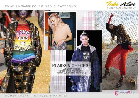 Discover the new Fall Winter Prints and patterns trends Directions by fashion trends forecasting.