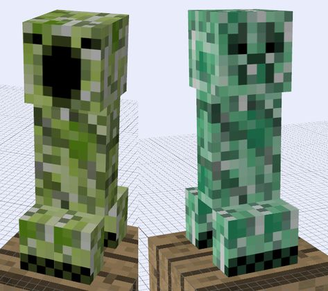 I was inspired to make my own creepers by this mod [link] and yeah, thats it.