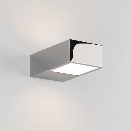 Astro 8162 Kappa Led Bathroom Wall Light In Polished Chrome Bathroom Wall Lights Wall Lights Light