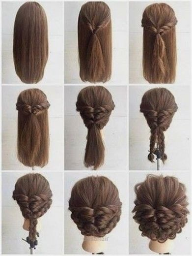 Fashionable Braid Hairstyle For Shoulder Length Hair Long Hair Styles Hair Lengths Shoulder Length Hair