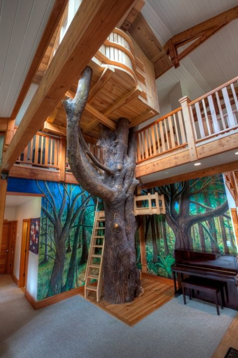 This Bainbridge Island Home Comes With Indoor Treehouse
