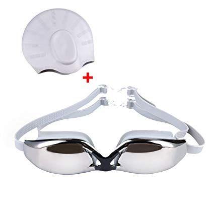 Swimming Goggles Anti Fog for Men Women Boys Girls Adult Junior Kids