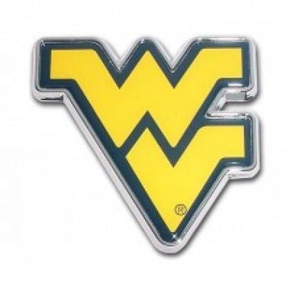 Emblem Elektroplate West Virginia University WV