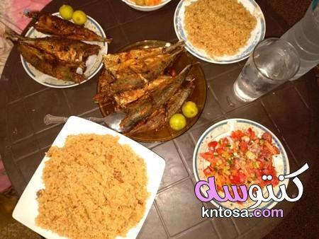 طريقة عمل الصياديه الحجازيه بالصور طريقة عمل السمك المقلي مثل المطاعم رز صيادية بني غامق Kntosa Com 27 19 156 Food Chicken Meat
