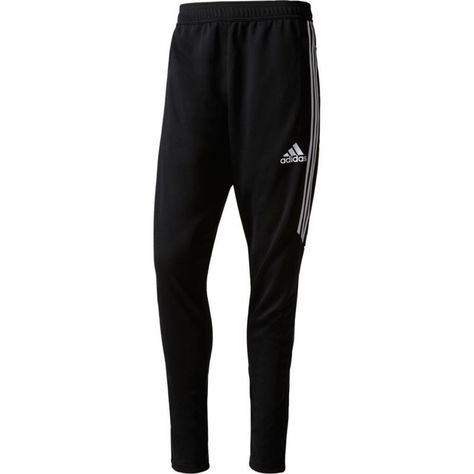 adidas Men's Tiro 17 Soccer Pants, Size: Small, Black in