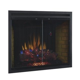 Classicflame 39eb500grs 39 Inch Traditional Built In Dual Voltage Electric Firep 39eb50 Electric Fireplace Fireplace Inserts Electric Fireplace Insert