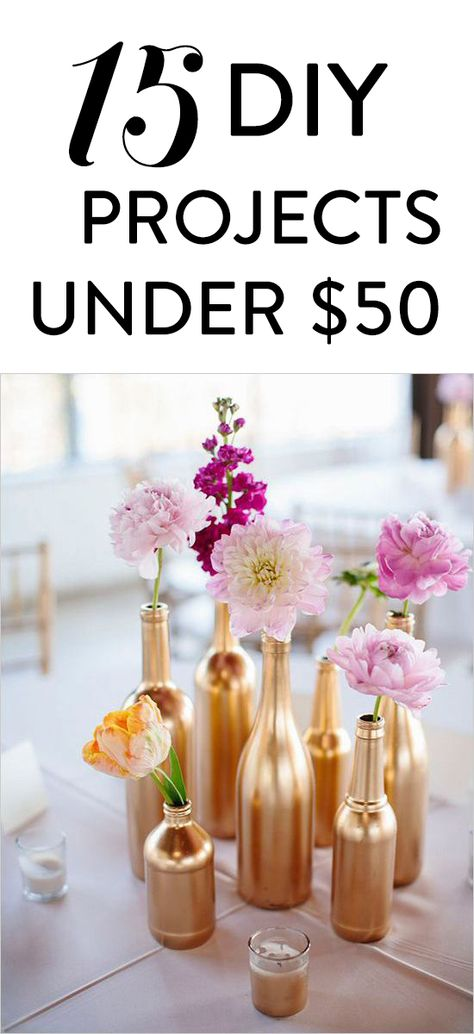 15 Popular DIY Projects for Under $50