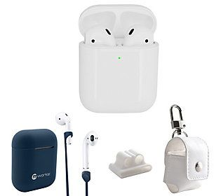 Apple Airpods 2nd Gen With Wireless Charging Case More Qvc Com
