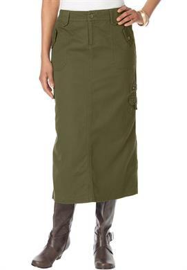 8e43421f83793f Cargo Skirt | Plus Size Skirts | Roamans