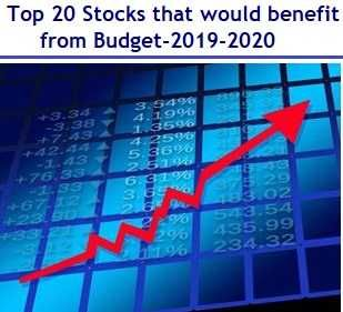 Top 20 Stocks That Would Benefit From Budget 2019 With Images