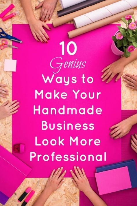 How to Make Your Website Look More Professional: Handmade Shop Tips