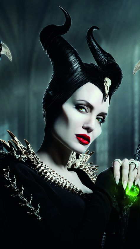Maleficent: Mistress of Evil, witch, Angelina Jolie, 2019, 2160x3840 wallpaper