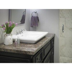 Formica Brand Laminate Patterns 48 In W X 96 In L Jamocha Granite Matte Laminate Sheet Lowes Com In 2020 Laminate Kitchen Clean Laminate Countertops Granite Bathroom Vanity Tops