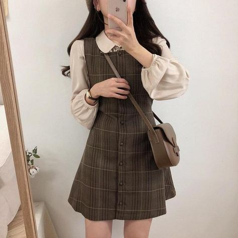 Spring Y2K Fashion Dark Academia Clothing Knitted Vintage Sweater Dress For Woman, Plaid 2021 Spring