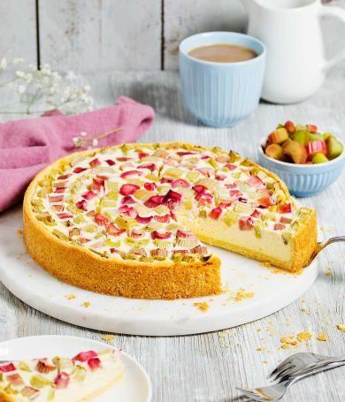 Cremiger Rhabarberkuchen Mit Quark Rezept Kuchen Rezepte Einfach Kuchen Und Torten Rezepte Rhabarberkuchen