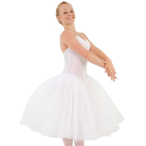 ed01c0089 This Made-to-Order garment is available in white only. Also, available in  child and adult sizes. Just visit www.dancegear.co.uk. Romantic Tutu.