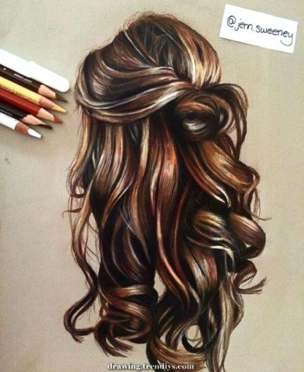 Lovely Draw Hair Tutorial Real Looking Shade Pencil 65 Tremendous Concepts Hair Sketch Drawing Hair Tutorial How To Draw Hair