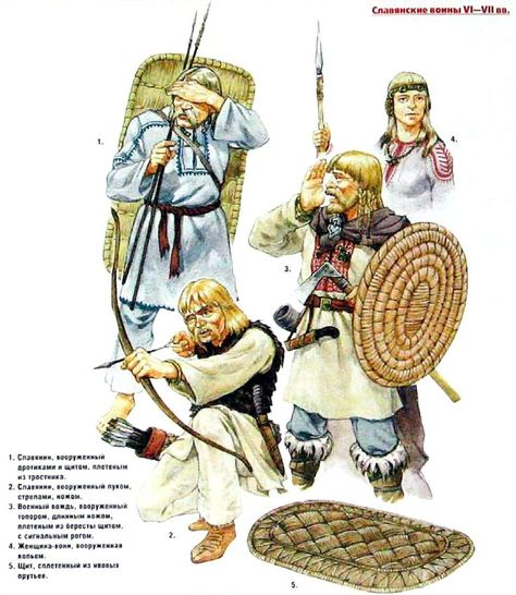 early slavic warriors VI-VIIcent  - Szukaj w Google