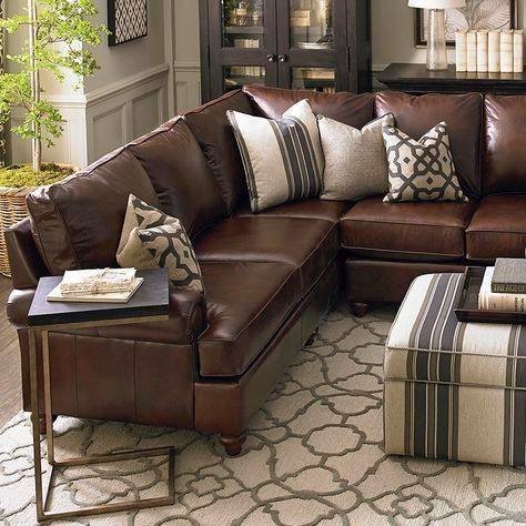 Pin By Naushaba Shahin On Living Dining Bedroom Etc Leather Couches Living Room Living Room Leather Living Room Decor Brown Couch