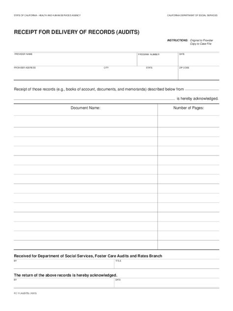 Delivery Receipt Form 2 Free Templates In Pdf Word Excel In