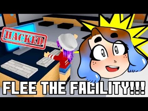 Hack The Computer Flee The Facility In Roblox Radiojh Games