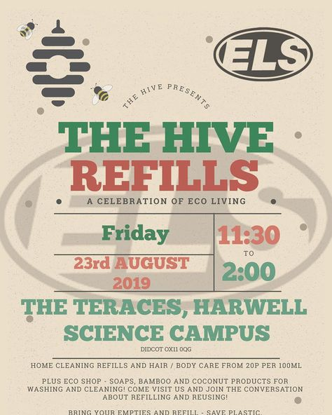 Next event - @harwellcampus so let everyone know #share #event #refills #harwell #campus #science