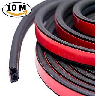 Tidemc 車用ドアモール 風切り音 防止テープ ウェザーストリップ 防音