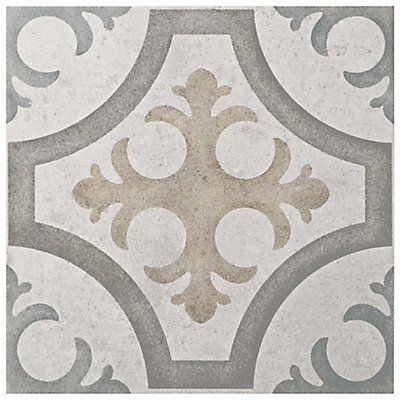 Merola Tile Llanes Jet 13 1 8 Inch X 13 1 8 Inch Ceramic Floor And Wall Tile 10 76 Sq Ft Case The Home Depo Ceramic Floor Floor And Wall Tile Wall Tiles