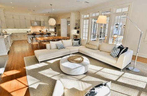 Luxury Open Kitchen Ideas for a Spacious Home | Kitchen Interior ...