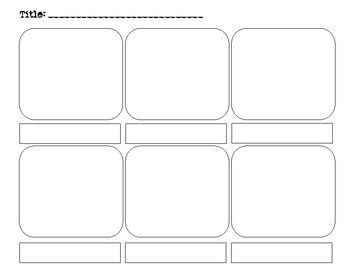 Graphic Novel Storyboard Template With Images Storyboard
