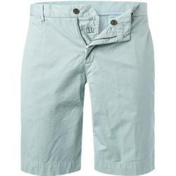 Summer pants for men - Hackett men& shorts, cotton, mint green HackettHackett -