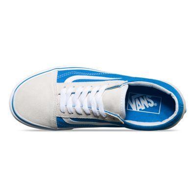 french bluetrue white #Vans