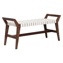 Outstanding Freedom Otto Bed End Bench With Woven Leather In 2019 End Lamtechconsult Wood Chair Design Ideas Lamtechconsultcom