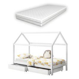 Kinderbett 90x200 Mit Bettkasten Kinder Bett Weiss Ikea Room Toddler Bed Bed